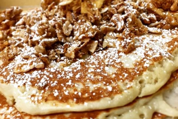 Pancakes at Real Food Cafe in Grand Rapids