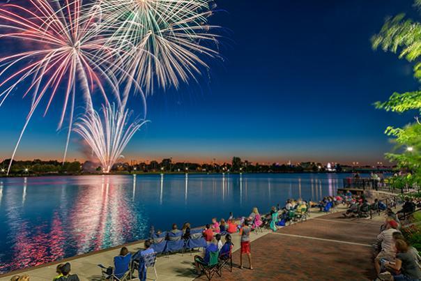Bay City Fireworks Festival - Optimized