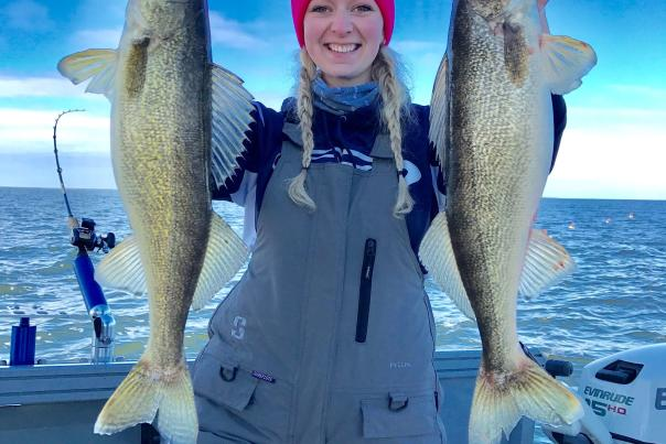 BLOG - Saginaw Bay Walleye Fishing - Fall