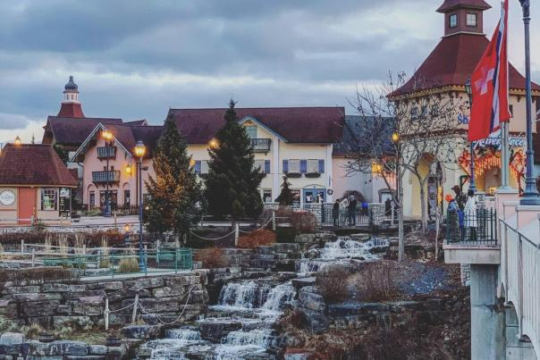 UGC - Shopping - Malls - Frankenmuth River Place Shops - Gorgeous Views on Wintry Day - @metro.detroiter