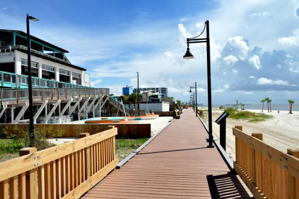 West Biloxi Beach Boardwalk
