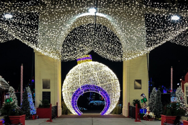 Gulfport Harbor Lights Winter Festival banner