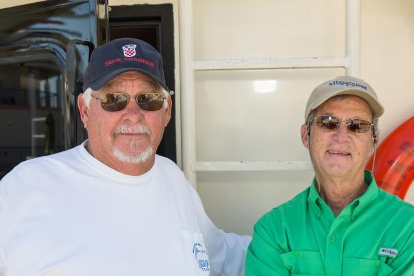Charter boat captains