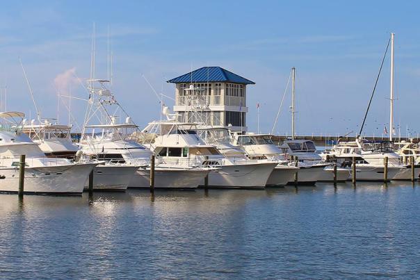 Bay St Louis Municipal Harbor - Bay St Louis MS