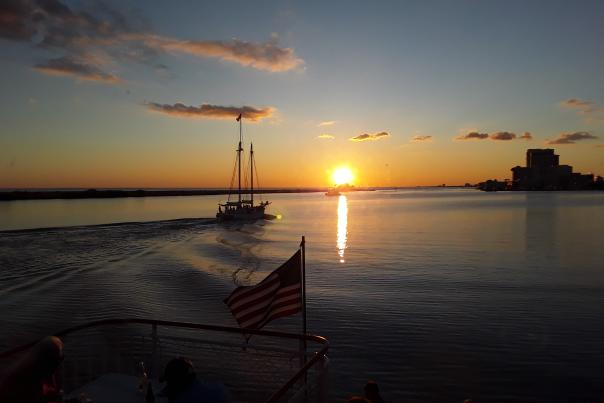 Biloxi Bay on the Betsy Ann - Chris Nichols