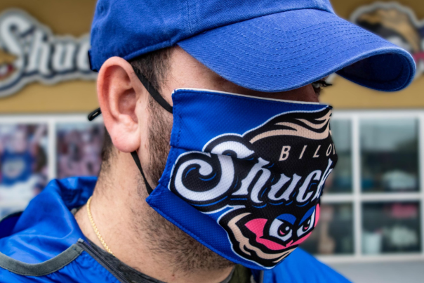 Biloxi Shuckers Face Mask