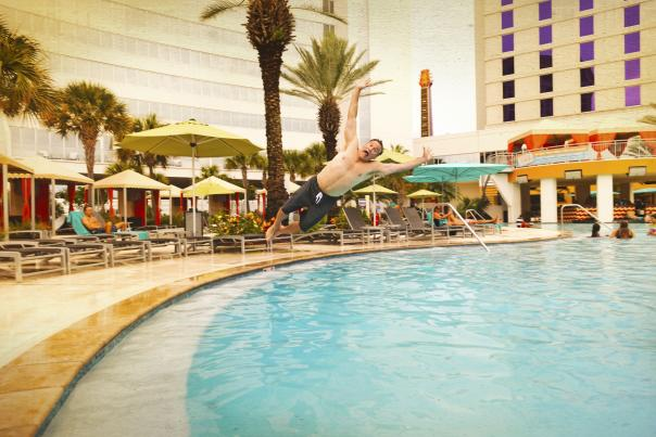 Fun in the Sun at Hard Rock's Pool