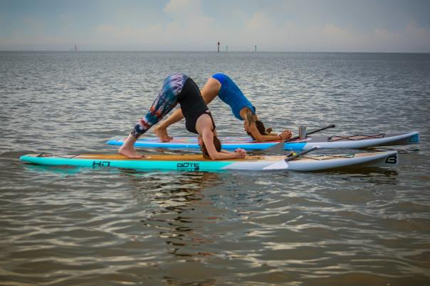 Paddles Up Yoga