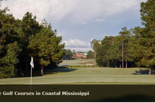 Top Five Golf courses in Coastal Mississippi
