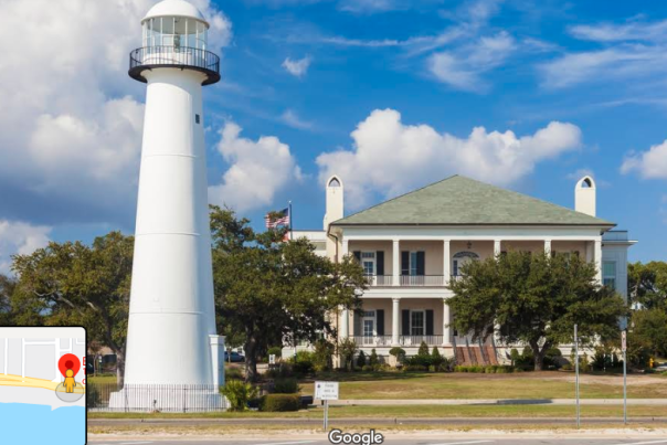 Biloxi Lighthouse - Virtual Scavenger Hunt Blog