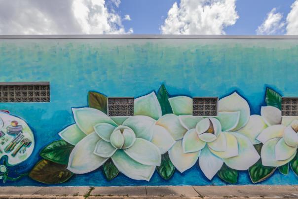 Biloxi Public Art: Magnolias