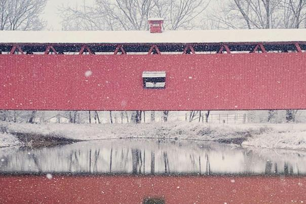 Conner Prairie in Winter