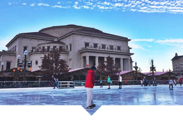 Ice at Center Green Ice Festival