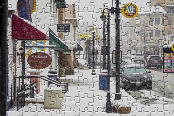 Jigsaw Puzzle - Main Street