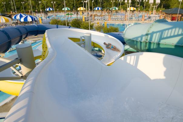 Splash Island Slide