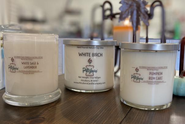 Pittsboro Candle Company Candles