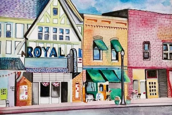 Artists Paint the Town Plein Art Event