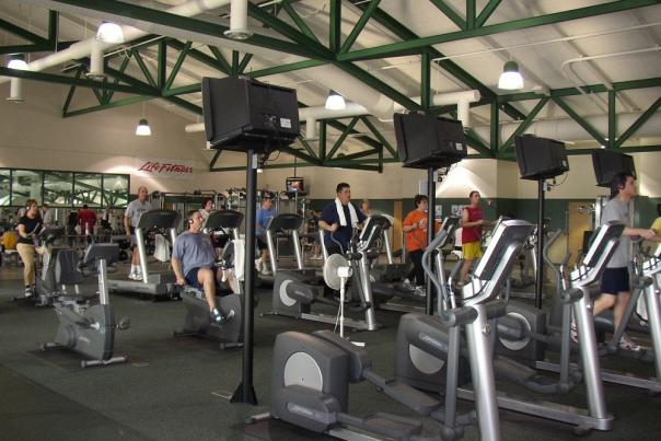 Exercise Equipment at Plainfield Recreation Center