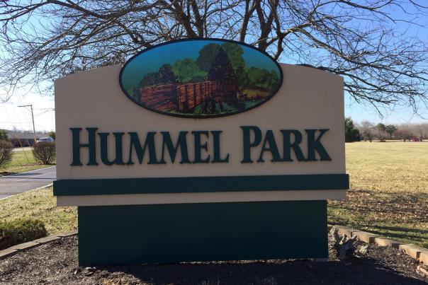 Hummel Park Sign
