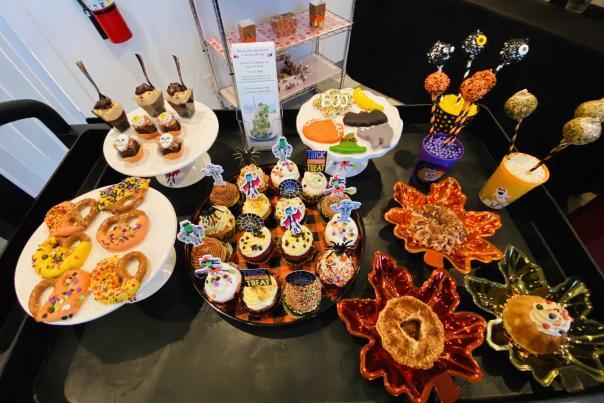 Marsha's Specialty Desserts, treats, desserts, Halloween,