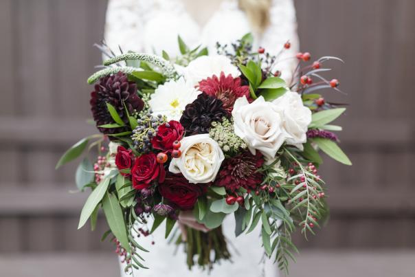 Fall Wedding Bridal Bouquet | Erika Brown Photography