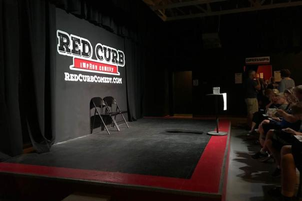 Red Curb Comedy, theater, Comedy