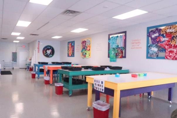Tie Dye Lab Interior