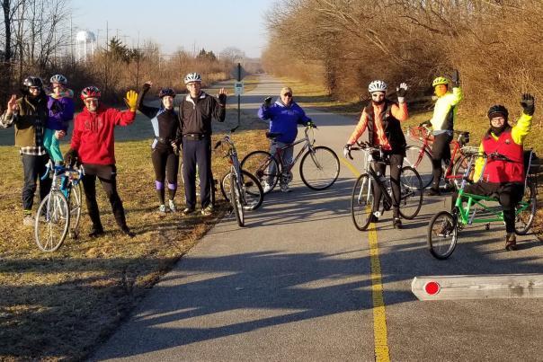 Vandalia Trail Brisk Bicycle Ride Plainfield