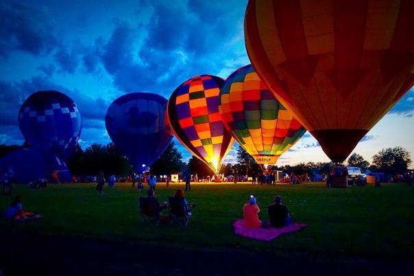 Rib-Fest & Avon Balloon Glow