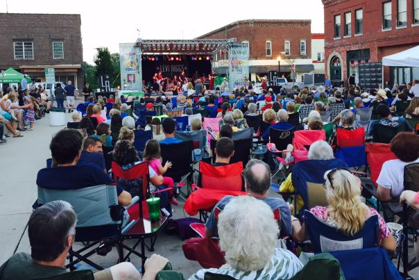 Levi Riggs concert at Summer Sounds on the Square
