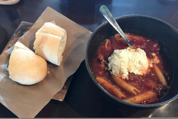 Hearty Lasagna Soup from the Beehive in Danville
