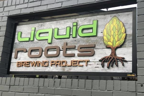 Liquid Roots- Sign