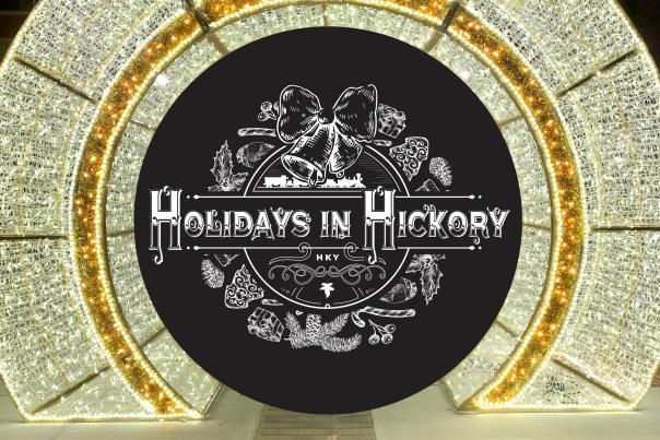 Holidays in Hickory- Downtown Ornament