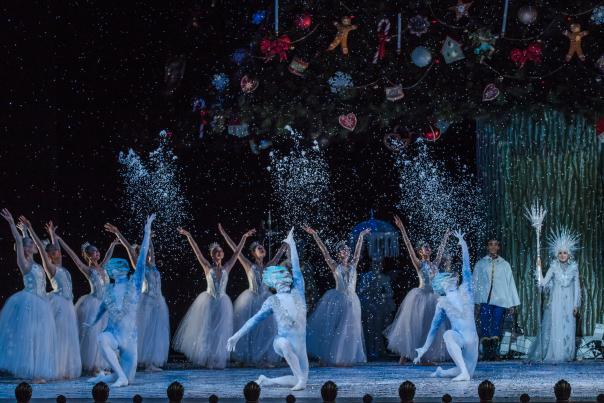 Artists of Houston Ballet in Stanton Welch's The Nutcracker