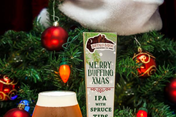 Buffalo Bayou Christmas Beer