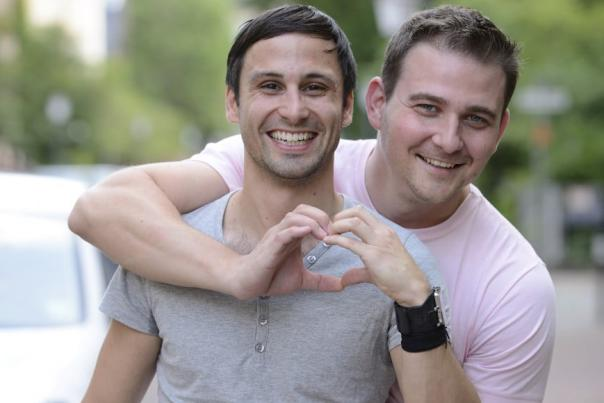 Gay Couple in Houston