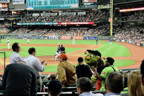 Minute Maid Park - Astros Game - Mascot Orbit