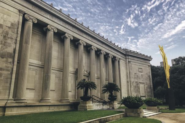 Exterior of The Museum of Fine Arts in Houston