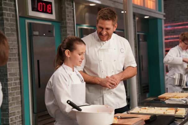 Kid cooks take over the kitchen