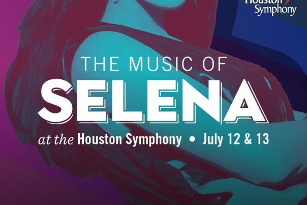 Houston Symphony -Selena Graphic