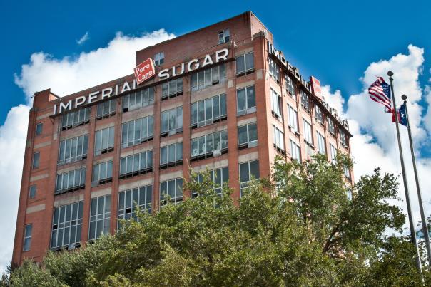 Imperial Sugar Factory in Sugar Land