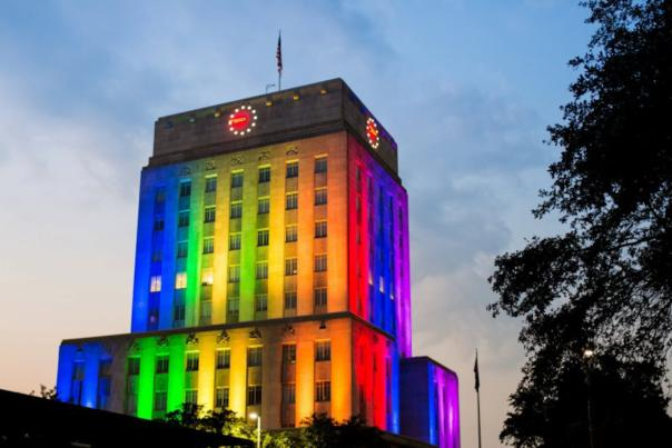 Pride City Hall 2012