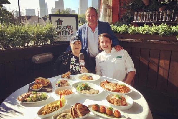 Menu Options from Houston Restaurant weeks