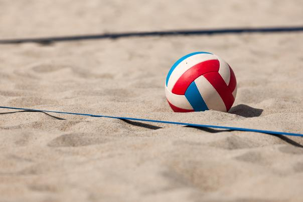 Volleyball and Sand