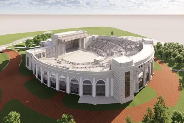 Amphitheater rendering