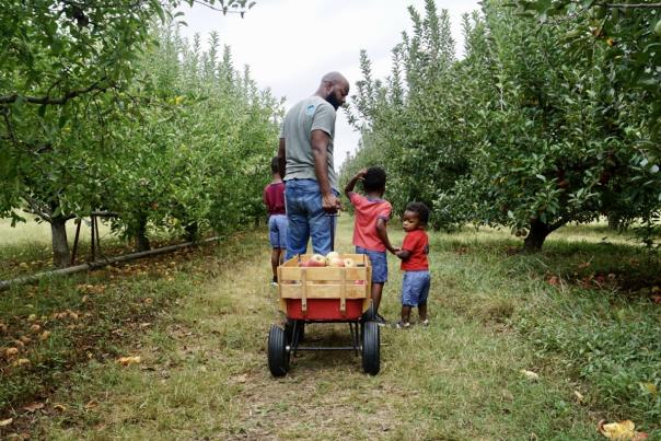 Zenovia Family Apple Picking