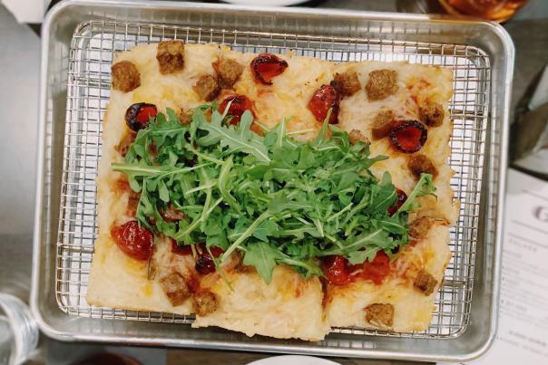 Goodland Pourhouse Vegan Pizza
