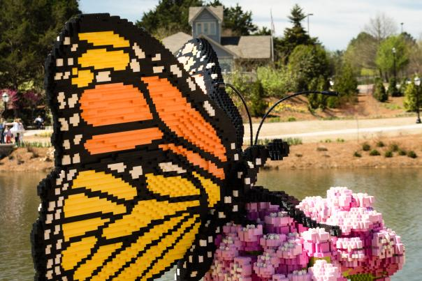 Lego Butterfly at HBG