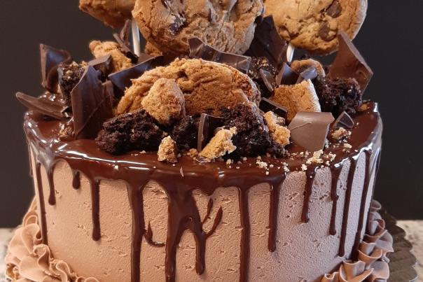 Dessert Fork Chocolate Cake
