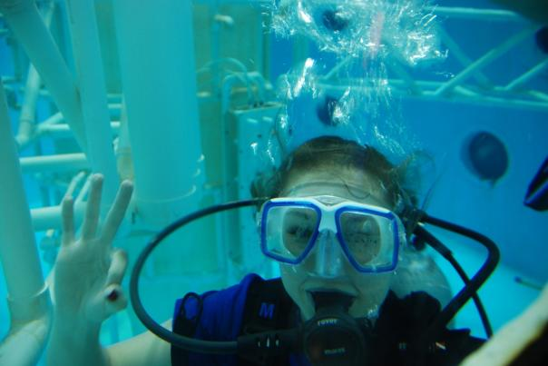 Scuba at Rocket Center